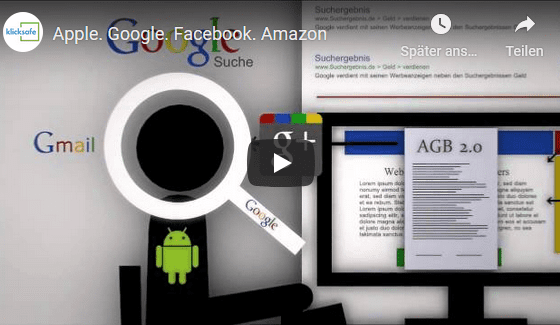 Apple Google Facebook und Amazon - Überblick der Strategieen