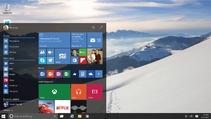 , Windows 10 Technical Preview