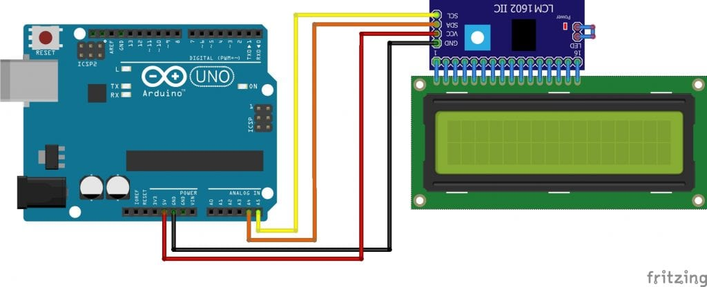 , [HOW TO] Arduino LCD Display I2C anschließen