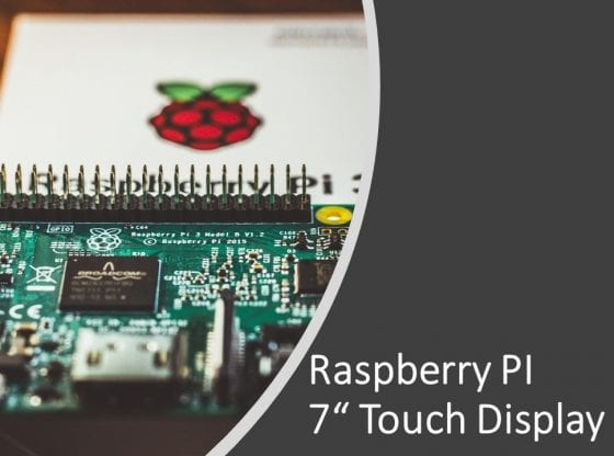"Raspberry PI 7"" Display einrichten"